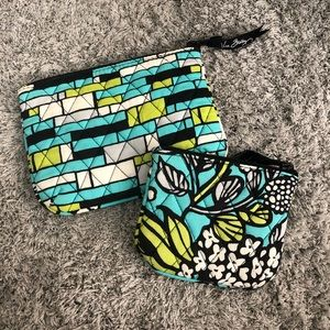 Vera Bradley pouches, retired pattern